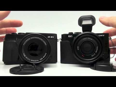 Fuji X-E1 vs Sony RX-1 Autofocus Speed and Side By Side Comparison