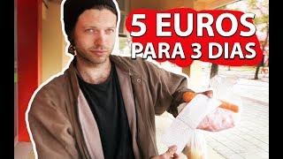 COMI POR 3 DIAS com apenas 5 EUROS! comendo muito bem e barato em Portugal