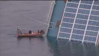 Cruise ship runs aground off Italy   MSN News UK