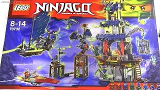 Built in 60 seconds: LEGO Ninjago City of Stiix 70732