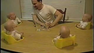 Laughing Quadruplets - Hilarious Babies!