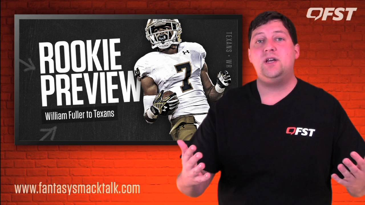 William Fuller Rookie Review – 2016 Fantasy Football thumbnail