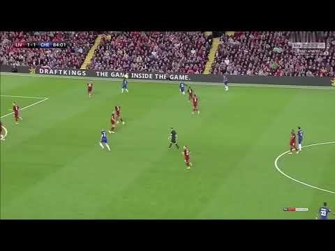 Hazard Goal Vs Liverpool
