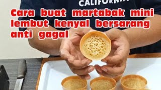 Video Resep martabak mini lembut kenyal bersarang anti gagal MP3, 3GP, MP4, WEBM, AVI, FLV Juni 2019
