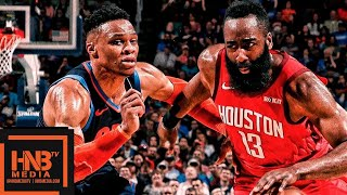 Houston Rockets vs Oklahoma City Thunder Full Game Highlights | April 9, 2018-19 NBA Season