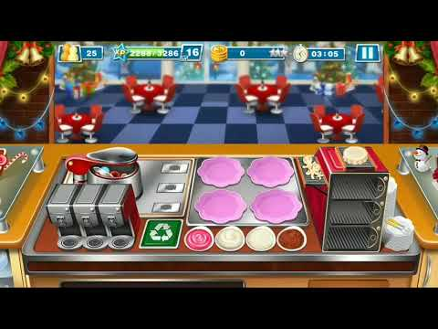 Let's Cook A Special Christmas Dinner! - Crazy Cooking Chef Game / No Sound
