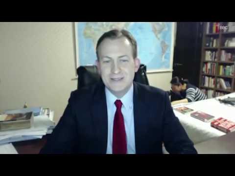 Un expert interrompu par ses enfants en plein direct sur BBC !