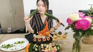 Video E17 Want to have Kaiten Sushi in you office? You can make it by yourself | Cooking in Office MP3, 3GP, MP4, WEBM, AVI, FLV September 2018