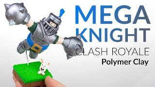 "Please watch: ""Lugia (Pokemon) – Polymer Clay Tutorial"" https://www.youtube.com/watch?v=15hHtHiKSuc-~-~~-~~~-~~-~-Hey guys and welcome to this polymer clay tutorial of the MEGA KNIGHT from CLASH ROYALE!! And this DIY is also about the cute white clay rabbit having the best day of its live until the Mega Knight is released… :DI will guide you step by step how to create the Mega Knight. The upcoming legendary card from the mobile game Clash Royale is not released yet, this is why the final Character may differ. How do you like my interpretation of the Mega Knight? Leave it in the comments :)-----------------------------------------------------------LINKS:my CLAY ▸ http://amzn.to/2vHCqNrNight Witch Tutorial ▸ https://youtu.be/6ZK6K2Ctu4YHog Rider ▸ https://youtu.be/bNZSFVi6zGkInferno Dragon ▸ https://youtu.be/L51EkjZ3H4Q-----------------------------------------------------------More ways to follow me:Instagram ▸ https://www.instagram.com/clayclaim/Snapchat  ▸ https://www.snapchat.com/add/clayclaimFacebook ▸ https://www.facebook.com/clayclaimTwitter ▸ https://twitter.com/ClayClaimEtsy ▸ coming soon ;)"