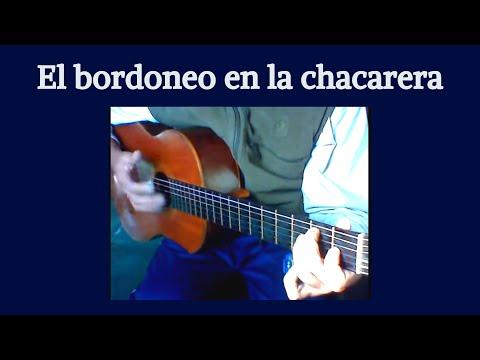 El bordoneo en la chacarera - Clases de guitarra - Video2 - Daniel Patanchon