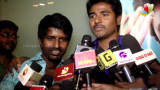 Sivakarthikeyan and Soori Comedy Speech at Varutha Padatha Valibar Sangam Audio Launch