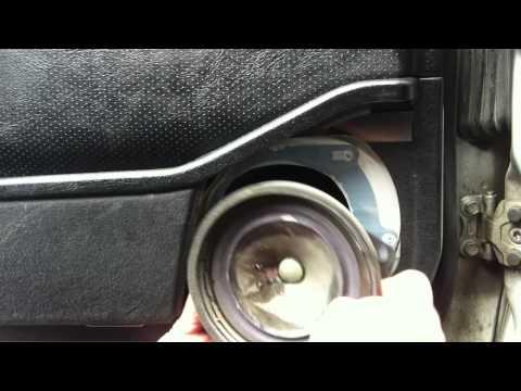 Mercedes stock speaker upgrade to factory Bose speakers