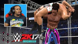 SUBSCRIBE: http://bit.ly/upupdwndwnWe pick up from our last episode where Austin finds himself staring down a 3-on-1 handicap match on SmackDown... where he works himself into a promo that punishes him with... a 1-on-1 cage match? What?!Like us on Facebook: http://www.facebook.com/UpUpDwnDwnFollow us on Twitter: http://twitter.com/UpUpDwnDwnCheck us out on Instagram: http://instagram.com/upupdwndwn/GET YOUR UPUPDOWNDOWN SHIRTS HERE: http://shop.wwe.com/250-100-001-1.htmlAND HERE: http://shop.wwe.com/250-100-002-1.htmlEUROSHOP T-SHIRTS: http://euroshop.wwe.com/en_GB/xavier-woods-upupdowndown-t-shirt/W10436.htmlAustin Creed's Twitter: http://twitter.com/XavierWoodsPhDAustin Creed's Twitch: http://twitch.tv/Austincreed/profile