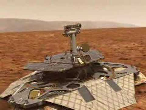mars - the popular digital animation of the mars rover to