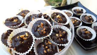 Video Kue Lebaran Dua Bahan Coklat Kacang | No Oven No Mixer MP3, 3GP, MP4, WEBM, AVI, FLV Mei 2019
