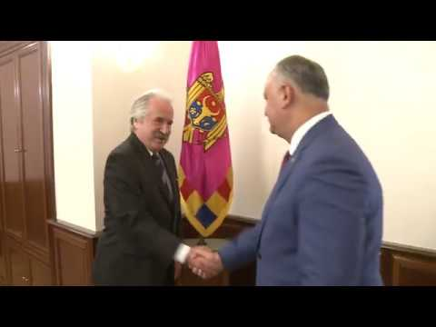 Игорь Додон провел встречу с послом Турции