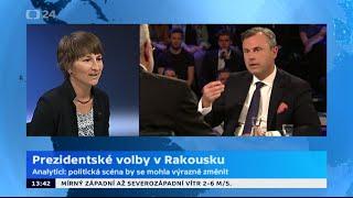 Rakousko před druhým kolem prezidentských voleb