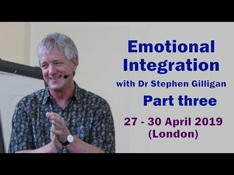 Interview with Stephen Gilligan' Emotional Integration - Part three