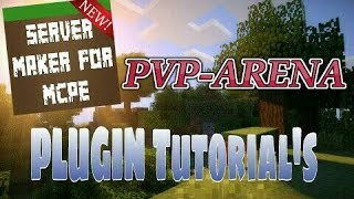 This video explains how to use the PVP Arena plugin featured in Server Maker for Minecraft PE, the #1 app to create your own MCPE Server.You can find the application here: Android:https://play.google.com/store/apps/details?id=com.bawztech.mcpeservermakerApple/IOS:https://itunes.apple.com/us/app/server-maker-for-minecraft-pe/id1138832899?mt=8This video was sponsored by one of our users, SnowDriven.You guys should definitely check his channel out it can be found here: https://www.youtube.com/channel/UCzWVOup-HVORNT_XhJm_6CAThe game you see featured in this video is Minecraft: Pocket Edition, this game is published by Mojang, a company owned by Microsoft. We do not have any affiliation with them, nor are we endorsed with them. This video exists for informational purposes only.