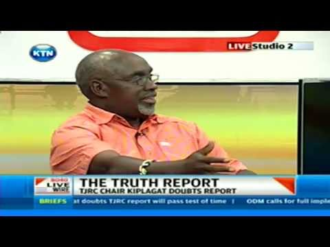 Livewire:Franklin Bett speaks out about TJRC report