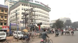 Patna (Bihar) India  city images : Rickshaw ride on the roads of Patna, Bihar