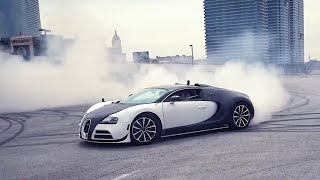 DRIFTING A BUGATTI VEYRON! *$40,000 Tires Destroyed*