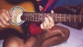 Belajar melodi guitar