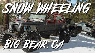 Holcomb Creek Snow Run with the Trail Reaper