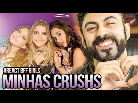 REAGINDO a BFF Girls - Meu Crush (Videoclipe)