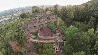 Dossenheim Germany  City pictures : Schauenburg bei Dossenheim - Phantom 2 Vision Plus