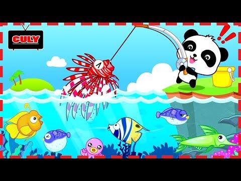 Trò chơi câu cá cùng với gấu trúc Panda Fishing game cu lỳ chơi game lồng tiếng vui nhộn - Thời lượng: 10:54.