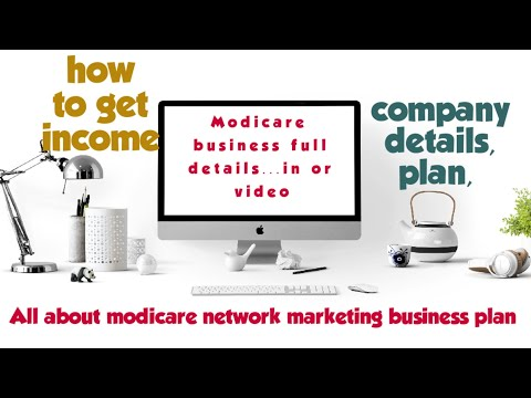 Modicare business plan, company background all details in one video.. don't miss 👍