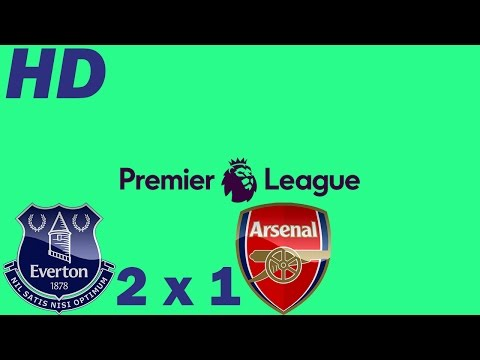 Everton 2 x 1 Arsenal ● Goals and Highlights ● Round 16 Premier League 2016 HD