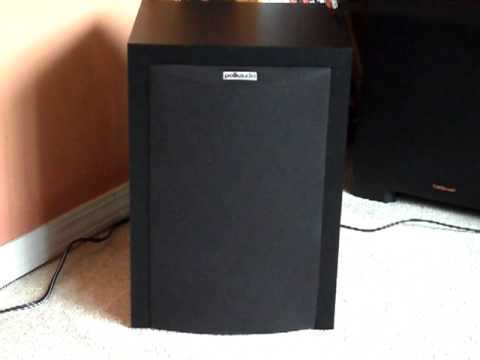 polk audio subwoofer - A Video on my Polk Audio Subwoofer (RM6750) Look/Review/Opinion/Comparison. Specs: - Front Firing 8 Inch Powered Subwoofer - Foam Surround - Front Slot Loade...
