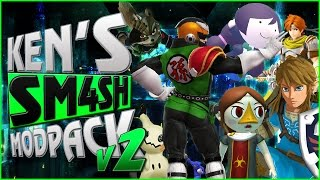Ken's Sm4sh Modpack v2 – Video Trailer + Download