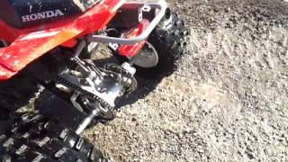 10. Honda trx 400X