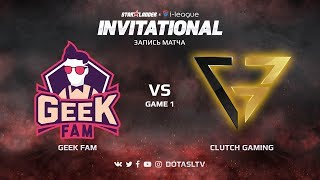 Geek Fam против Clutch Gaming, Первая карта, SL i-League Invitational S4 SEA Квалификация