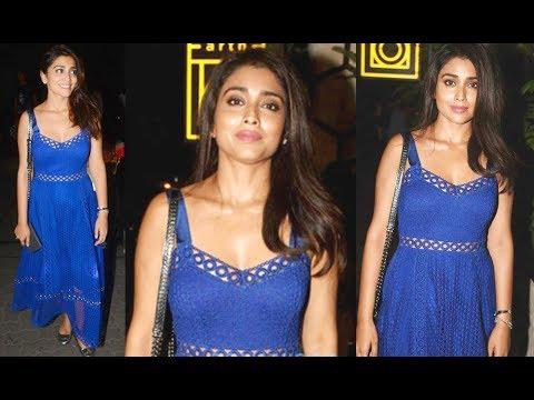 Shriya Saran Hot At Recent Bollywood Birthday Party 2017