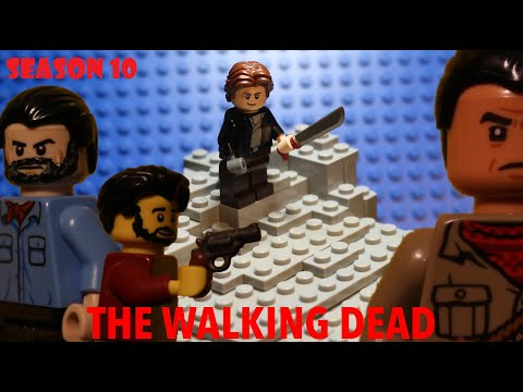 Lego The Walking Dead Season 10 Episode 8 - To Live is to Suffer