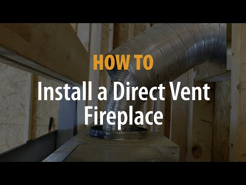 Direct Vent Fireplace Installation - eFireplaceStore.com