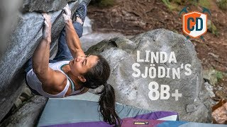 Linda Sjodin Takes Down New Base Line V14/8B+ | Climbing Daily Ep.1519 by EpicTV Climbing Daily