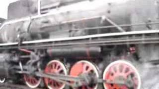 Pingdingshan China  city photos : Steam Engine in Pingdingshan China 1