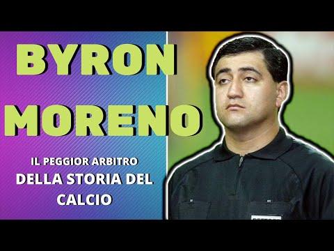 STORIA DI BYRON MORENO: IL PEGGIOR ARBITRO DELLA STORIA DEL CALCIO