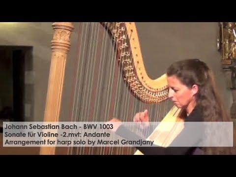 Johann Sebastian Bach, BWV 1003 – Sonate für Violine, Silke Aichhorn – Harfe / Harp