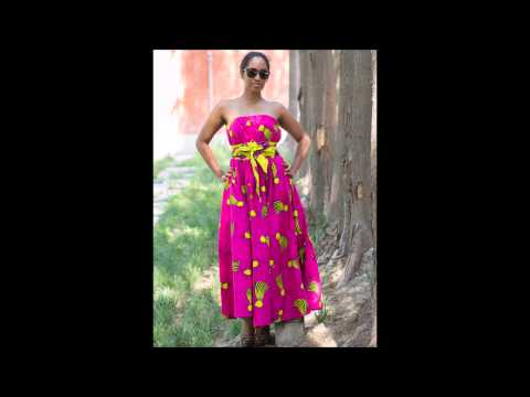African Fashion Wear Pink