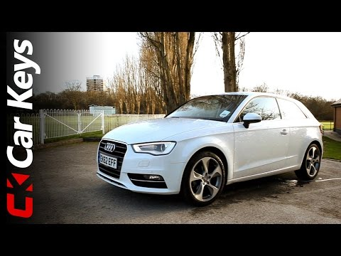Audi A3 review and road test 2013