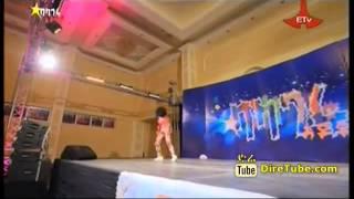 Balageru Idol Yordanos Abiye Dance Contestant 3rd Audition Addis Ababa