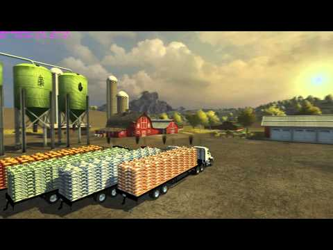 Flatebed Refillable Seed Trailer v1.1