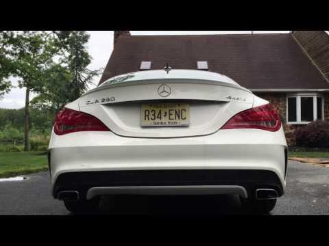 Mercedes Benz CLA 250 4-Matic Sedan (STOCK) Exhaust and Turbo Spool Sound