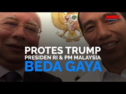 Protes Trump, Presiden Indonesia Dan PM Malaysia Beda Gaya